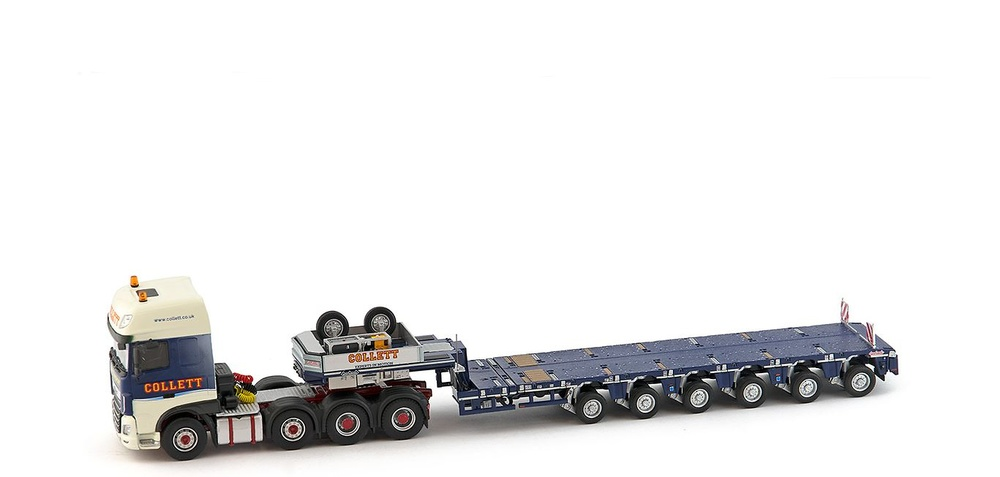 Daf Euro6 SSC 8x4 + Nooteboom MCO-PX 6 ejes - Collett - Imc Models 1/50