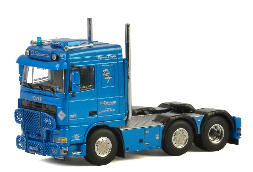 Daf XF 105 Space Cab Sprangers Wsi Models 2494 escala 1/50