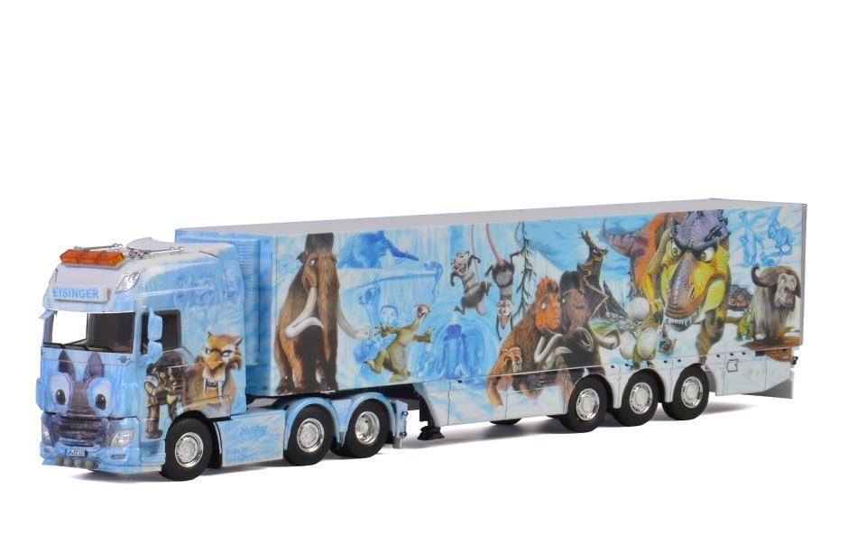 Daf XF SSC + frigo 3 ejes Eisinger Wsi Models 2666