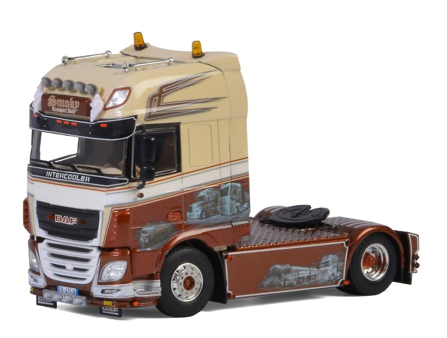 Daf XF SSC Smoky Transport Wsi Models 0074 escala 1/50