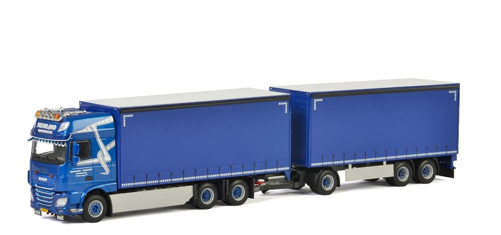 Daf Xf105 SSC Nieuwland Wsi 01-2312 escala 1/50