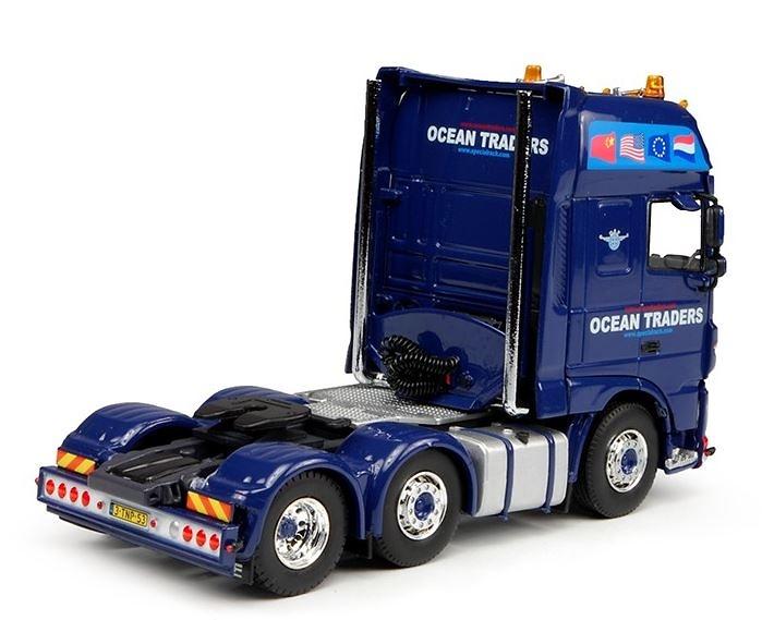 Daf xf Euro 6 SSC 4x2 - Ocean Traders - Tekno 70174 Masstab 1/50
