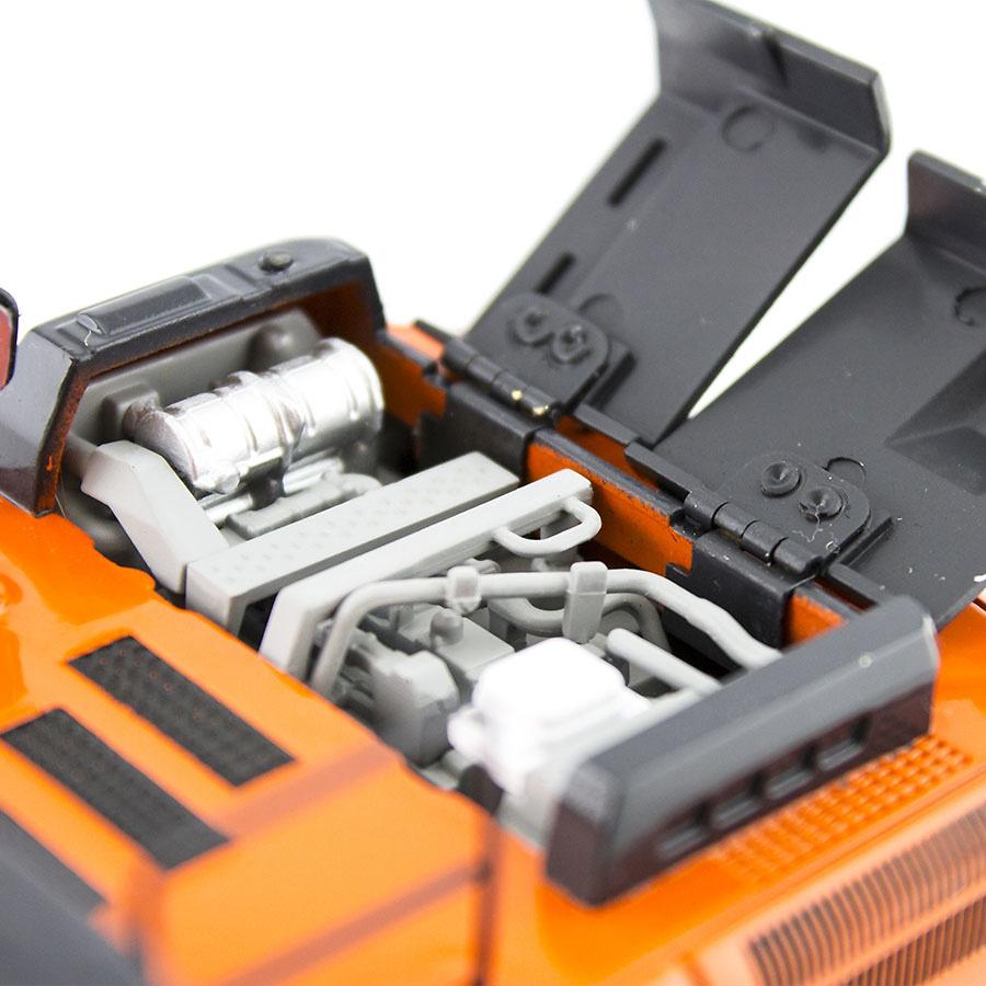 Excavadora Hitachi zaxis ZX 350 LC, Tmc scale models 1/50