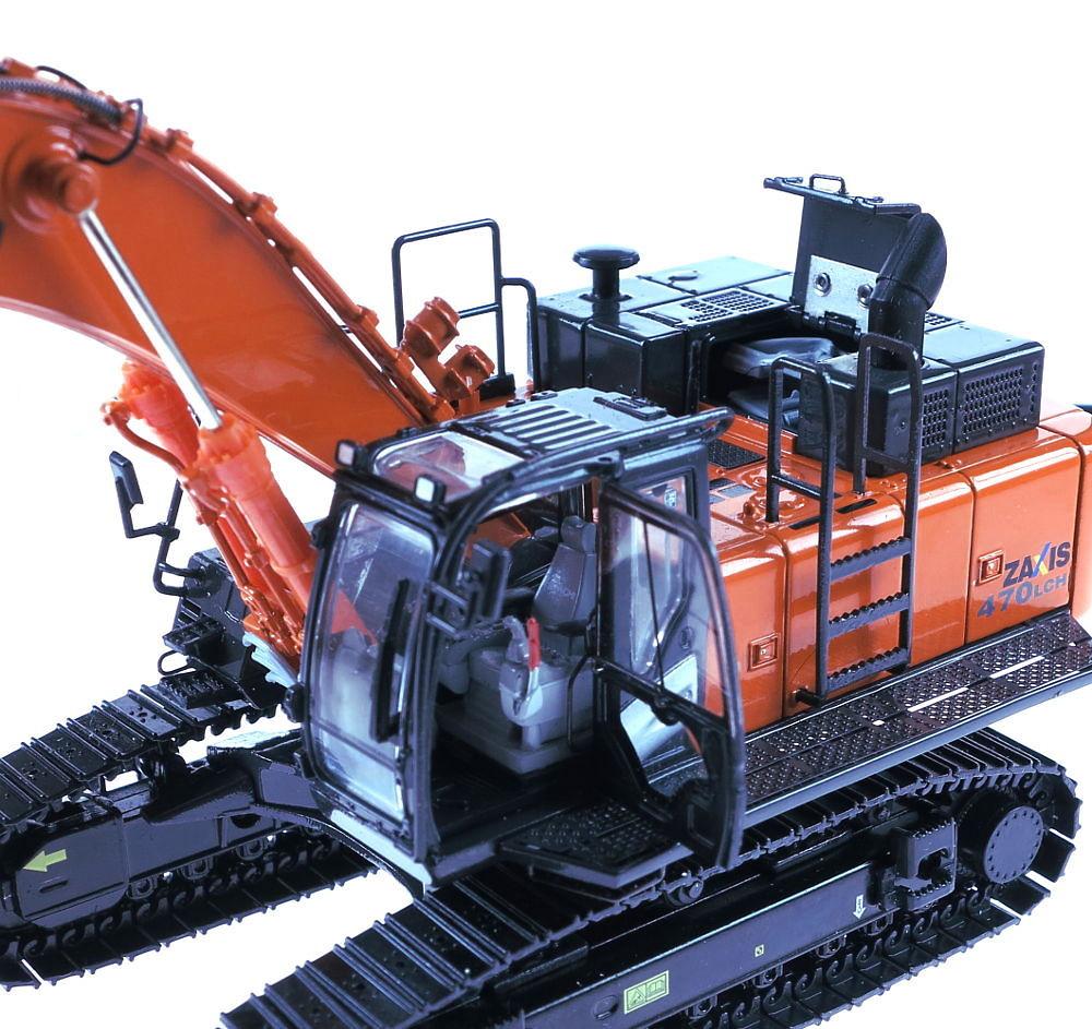 Hitachi zaxis 470 excavadora 1/50 tmcscalemodels 55460