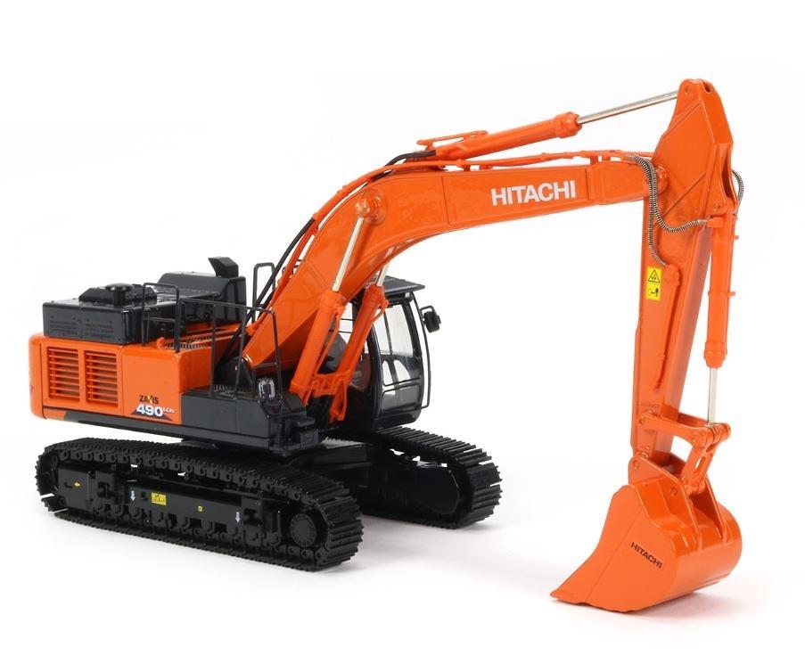Excavadora Hitachi zaxis ZX490 LCH-6 Tmcscalemodels 1/50