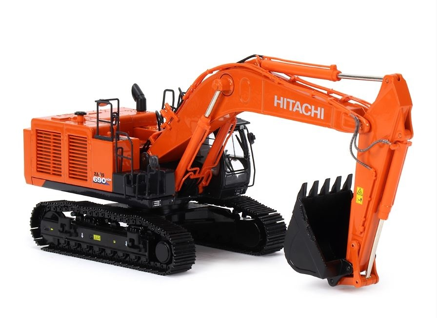 Excavadora Hitachi zaxis ZX690 LCH-6 Tmcscalemodels 1/50