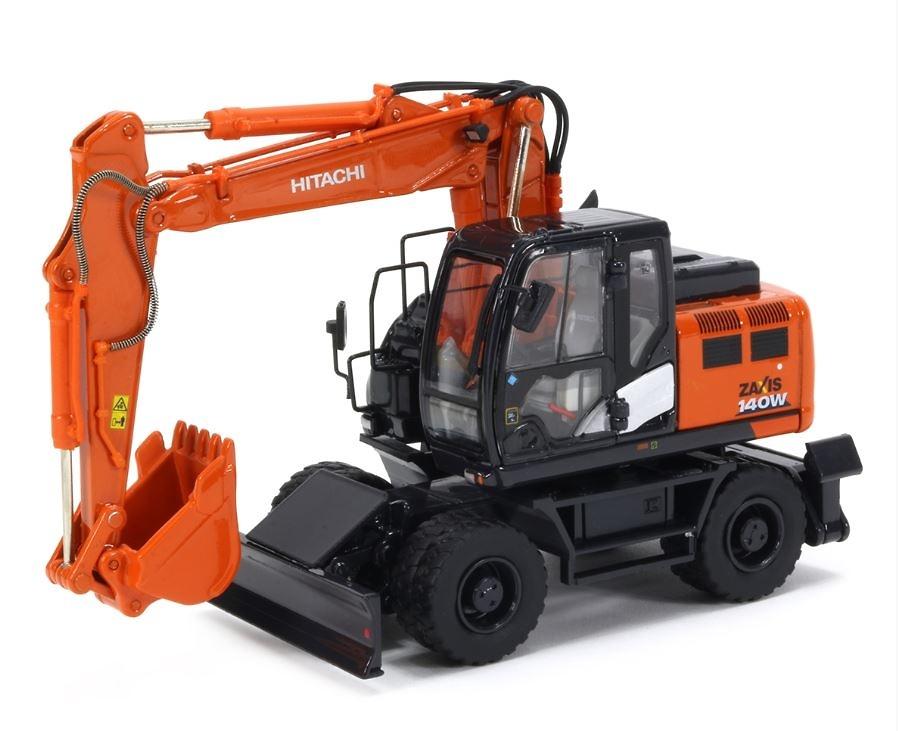 Excavadora Hitachi zaxis w140 Tmcscalemodels 1/50
