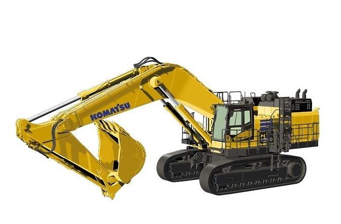 Excavadora Komatsu PC1250 Nzg Modelle 999 escala 1/50