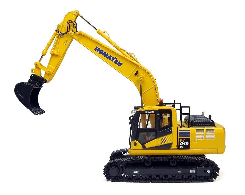 Excavadora Komatsu PC210 LC-10 Universal Hobbies 8093 escala 1/50