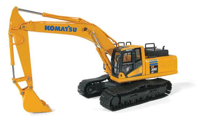 Excavadora Komatsu PC360LC-10 First Gear 3253 escala 1/50