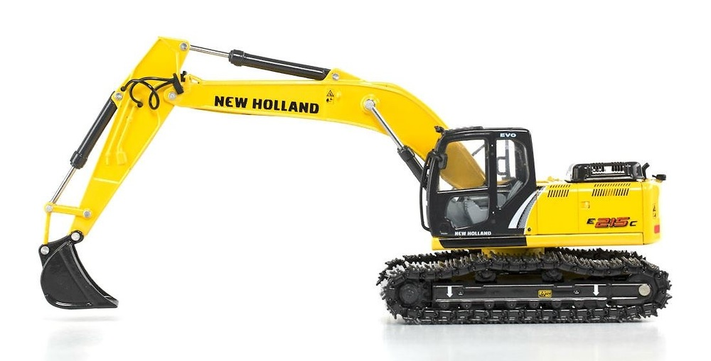Excavadora New Holland 215 c Motorart 13781 escala 1/50