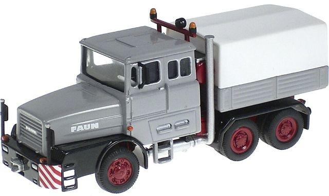 FAUN 1206 LKW Camión especial Gris NZG 1/87