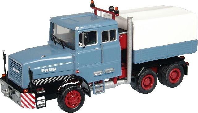 FAUN 1206 Camión especial Azul NZG 1/50