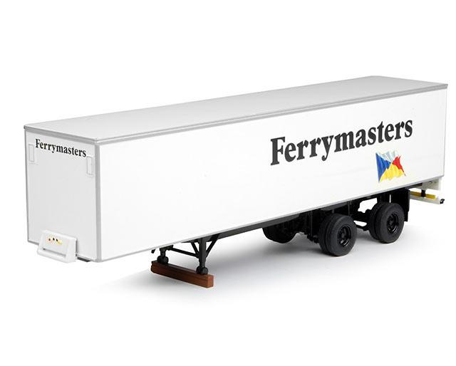 Ferrymasters - caja cerrada clasica Tekno 64604 escala 1/50