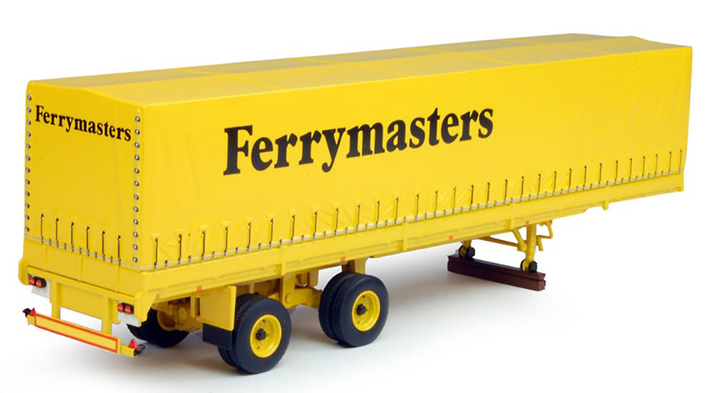 Ferrymasters -tautliner lona clasico Tekno 64605 escala 1/50