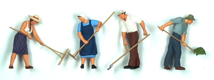 Figuras Agricultores Preiser 1/43