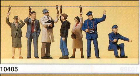 Figuras Pasajeros Bus Urbano Preiser 1/87