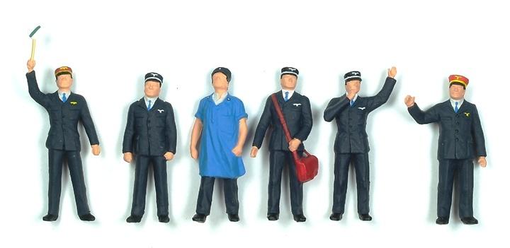 Figuras Personal Ferrocarril Suiza Preiser 65304 1/43