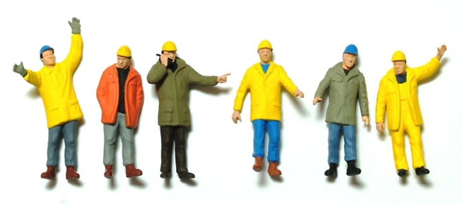 Figuras industria, Preiser 1/50 68214