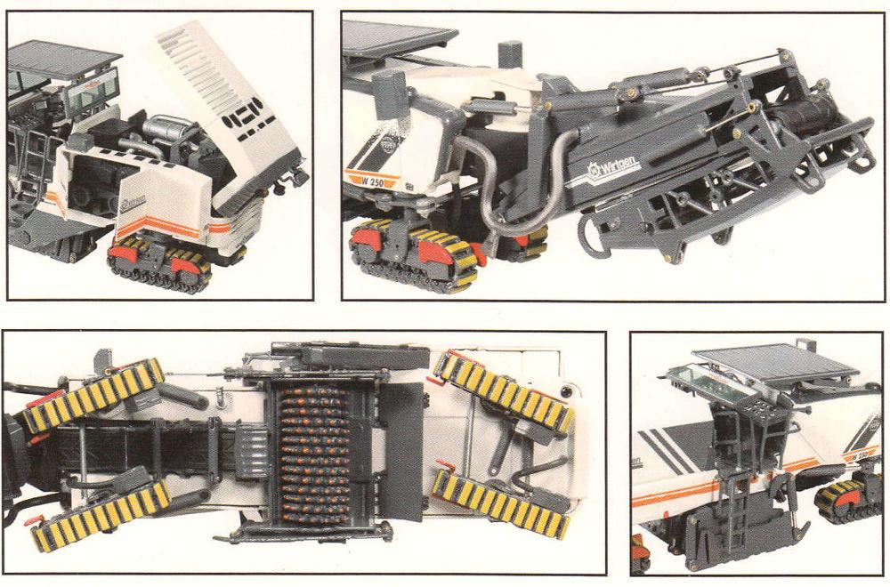 Fresadora Wirtgen W250i Nzg Modelle 872 escala 1/50