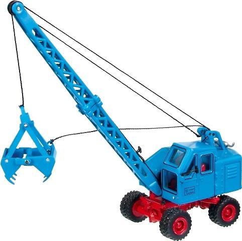 FUCHS F 301 Excavadora Cables NZG 1/87
