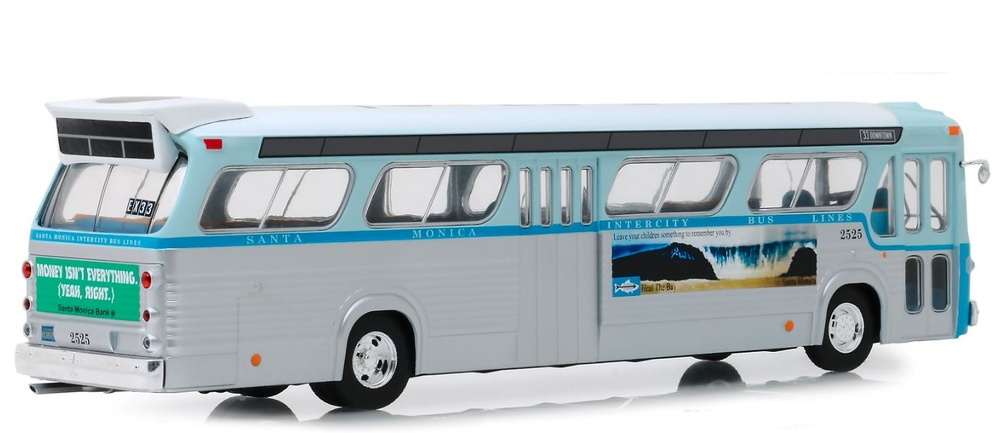 General Motors Autobus TDH - Santa Monica (1960) Greenlight 1/43