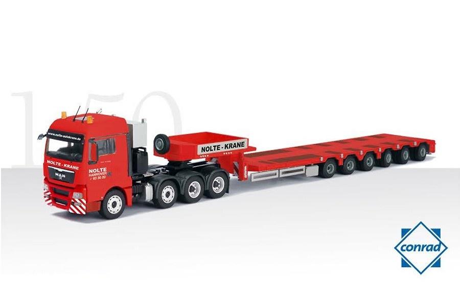 Goldhofer Tieflader + Man Tgx XLX 8x4 Nolte Conrad Modelle 70178