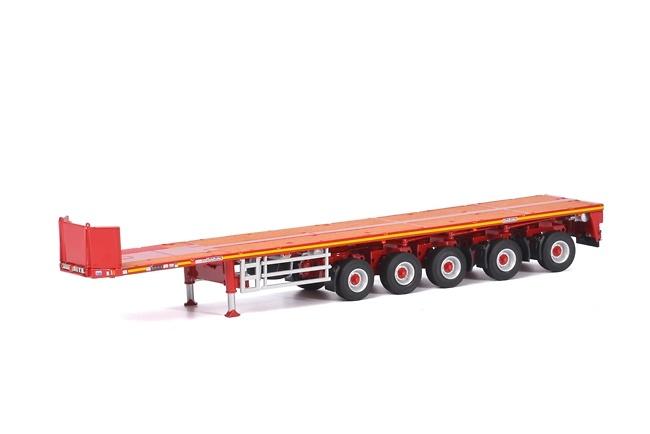Goldhofer plataforma 5 ejes Wsi Models 04-1173 escala 1/50