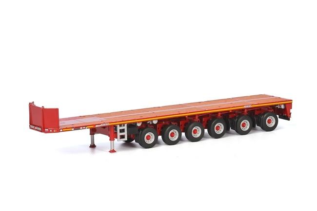 Goldhofer plataforma 6 ejes Wsi Models 04-1174 escala 1/50