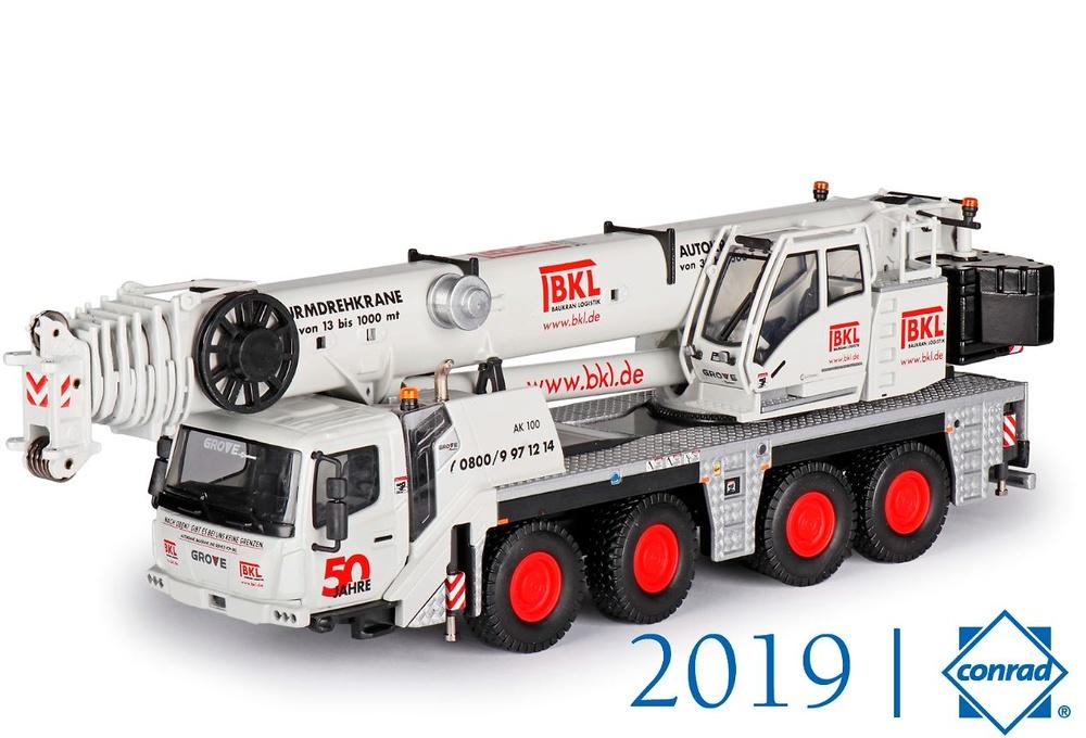 Grove Gmk 4100L - BKL Conrad Modelle 2119-02 escala 1/50