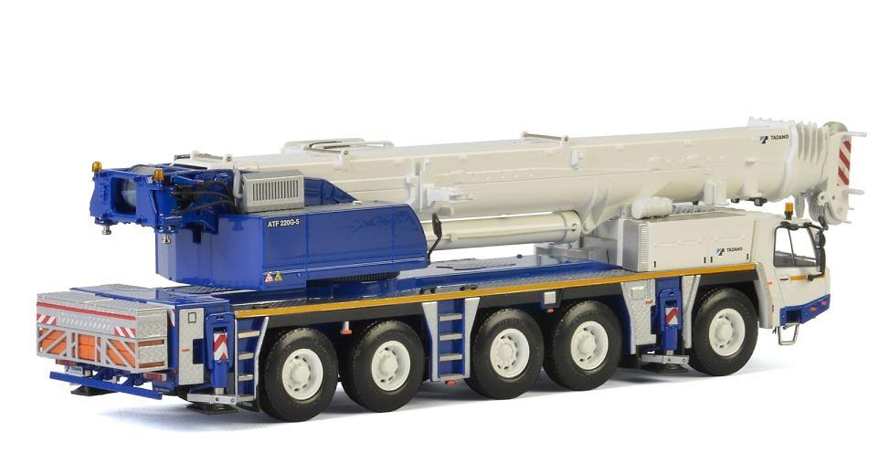 Grua Tadano Faun ATF 220G-5 Wsi Models escala 1/50