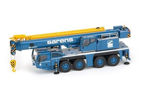 Grua mobil Terex AC 100 /4L Sarens, Conrad Modelle 2107 escala 1/50