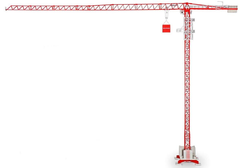 Grua torre Wolffkran 7534 Conrad Modelle escala 1/87