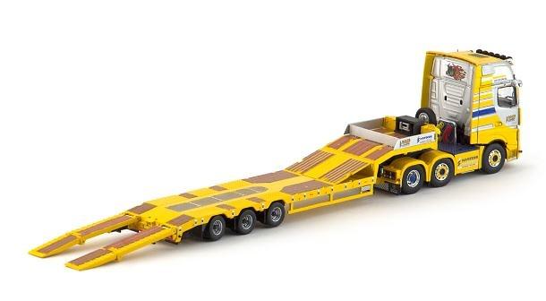 Havecon Mercedes Benz Actros Gigaspace Nicolas euroflex trailer Imc Models