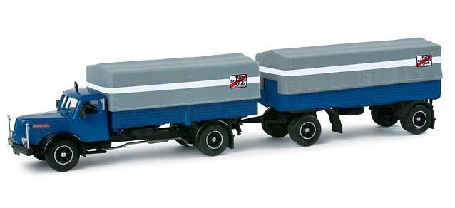 Henschel HS 140 camion de lona
