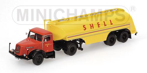 Henschel HS140S Cisterna Shell Minichamps 499171970 escala 1/43