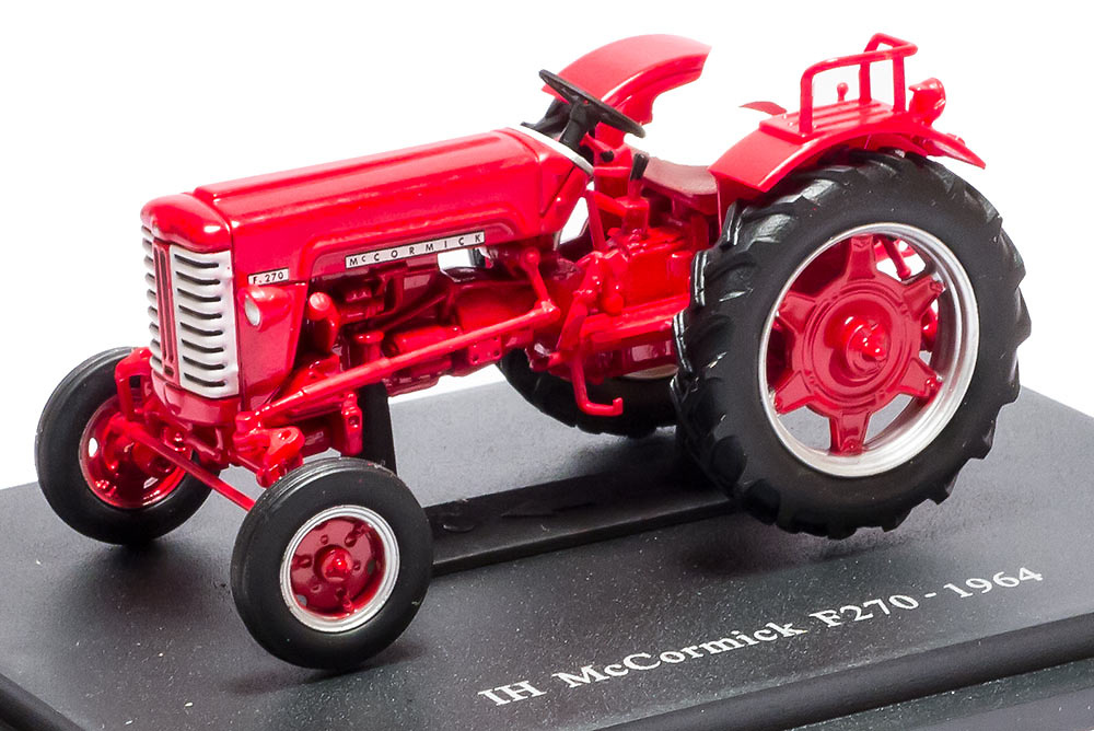 IH Mc cormick F270 - 1964 - coleccion HACHETTE / Universal Hobbies escala 1/43