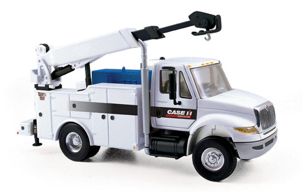 International DuraStar Service Truck con grua, First Gear 1/50
