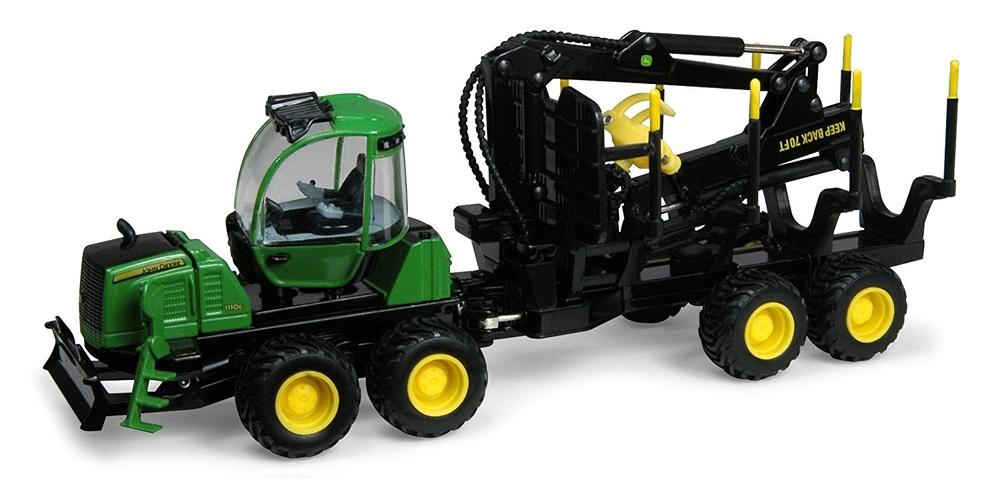 John Deere 1110 E Transporte Forestal, Ertl 42467 escala 1/50