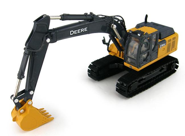 John Deere 210G LC excavadora Ertl 5432 escala 1/50