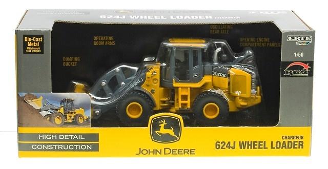 John Deere 624J Pala Cargadora ERTL 15704 escala 1/50