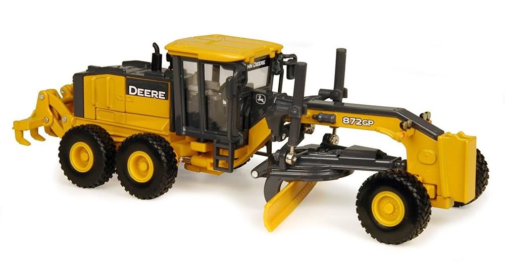 John Deere 872GP Motoniveladora Ertl 45049 escala 1/50