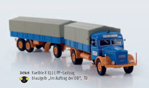 KAELBLE K832L PP Brekina 1/87