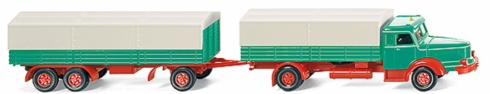 KRUPP Titán (1950-54) Trailer, Wiking 1/87