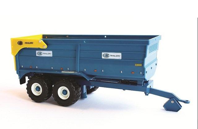 Kane 16 toneladas grain trailer, Britains Ertl 42701 escala 1/32