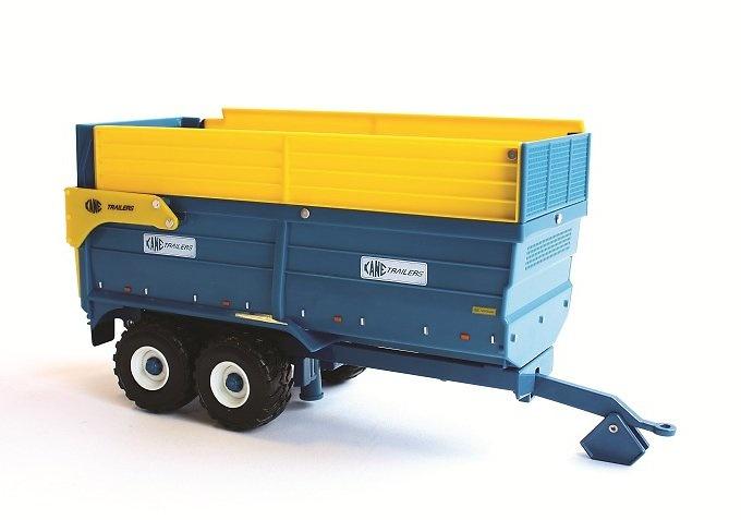 Kane 16 toneladas silo trailer, Britains Ertl 1/32 42700