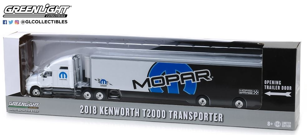 Kenworth T2000 Mopar - Greenlight 29963 escala 1/64
