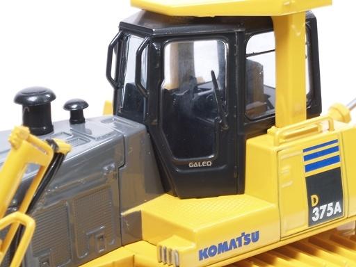 Komatsu D 375 A-5 Bulldozer c/ripper, First Gear 0216 escala 1/50