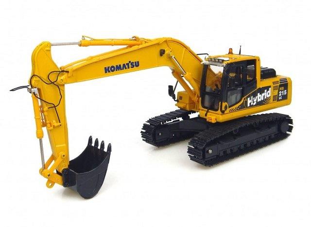 Komatsu HB 215 Hybrid, Universal Hobbies 1/50 8081