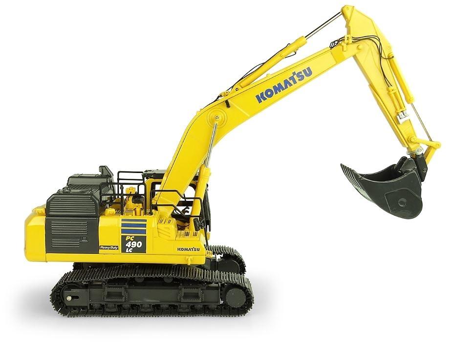 Komatsu PC490 LC-11 Excavadora, Universal Hobbies 8120 escala 1/50